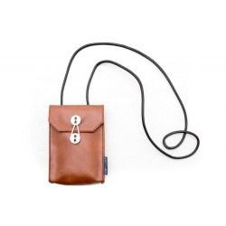Phone bag(V) Brown sling...