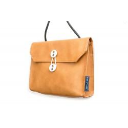 BAG WITH ORANGE BROWN...