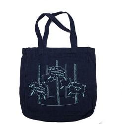 BYOB Denim bag with Sheep...