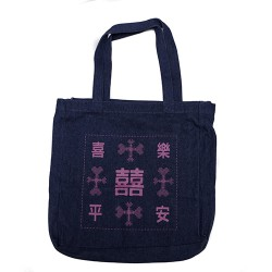 BYOB Denim bag with Double...
