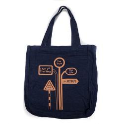 BYOB Denim bag with...