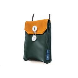 Phone bag(V) Orange Brown...