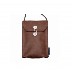 Passport bag(V) Dark Brown...