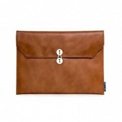 13寸 橫款 啡色 公文袋形 電腦包 筆記本電腦包...